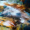 Meer, Landschaft, Bewegung und farbe, Brandung