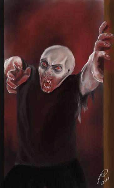 Blut, Vampir, Böse, Monster, Hässlichkeit, Digitale kunst