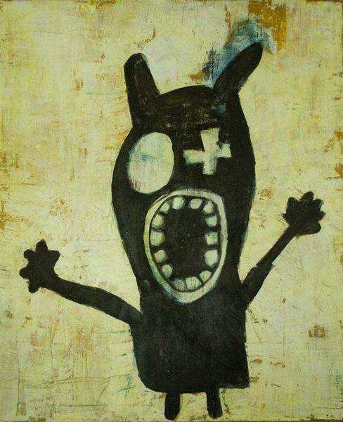 Vanessa uher, Spachtel, Malmesser, Acrylmalerei, Figurativ, Malerei