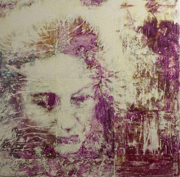 Acrylmalerei, Mischtechnik, Spachtel, Abstrakt, Malmesser, Vanessa uher
