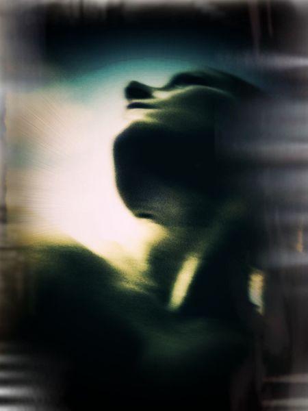 Abstrakt, Figural, Portrait, Frau, Fotografie, Selbstportrait