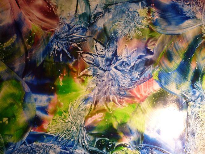 Bild: Malkarten, Wachsmalerei, Encaustik, Abstrakt von Tanja Moeller ...