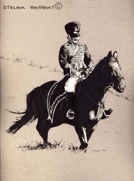 La peinture dhistoire, Équestre, Drache, Libération, Militaire, Poudre noire