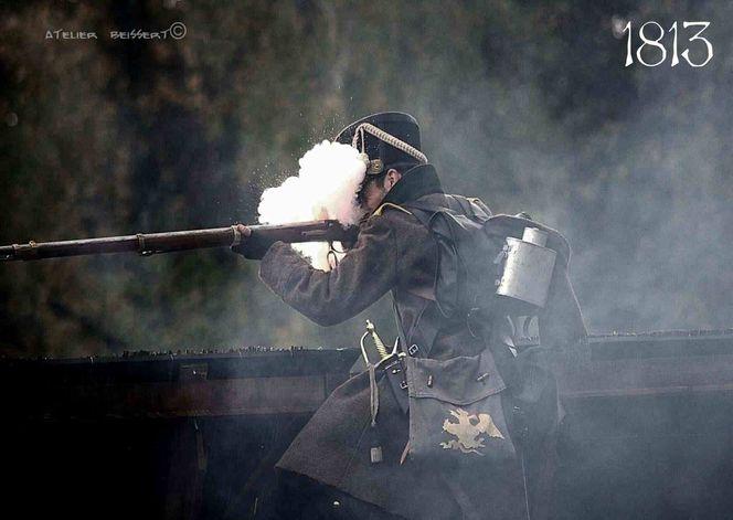 Pulver, Völkerschlacht bei leipzig, La saxe, Militär, Reiter, Uniform