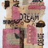 Paperwork, Wörter collage, Buch, Collage