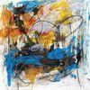 Acrylmalerei, Abstrakt, Gefühl, Malerei