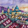 Häuser, Salzburg, Stadt, Salzburger dom