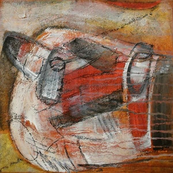 Acrylmalerei, Abstrakt, Malerei, Malerei 2012
