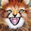 Tiere, Gepard, Aquarellmalerei, Aquarell