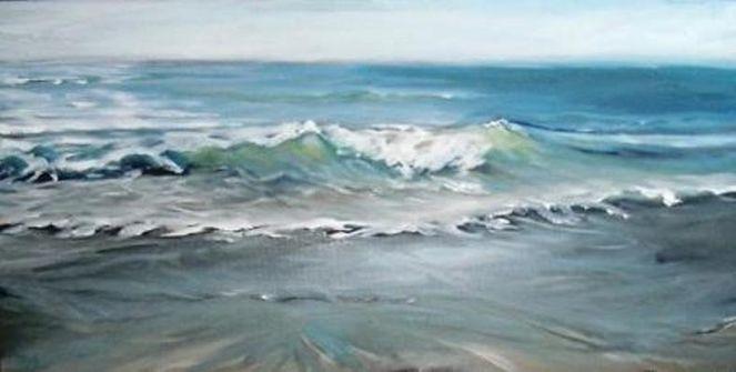 Sand, Wasser, Blau, Sylt, Meer, Welle