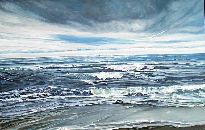 Welle, Sand, Meer, Blau, Natur, Sylt