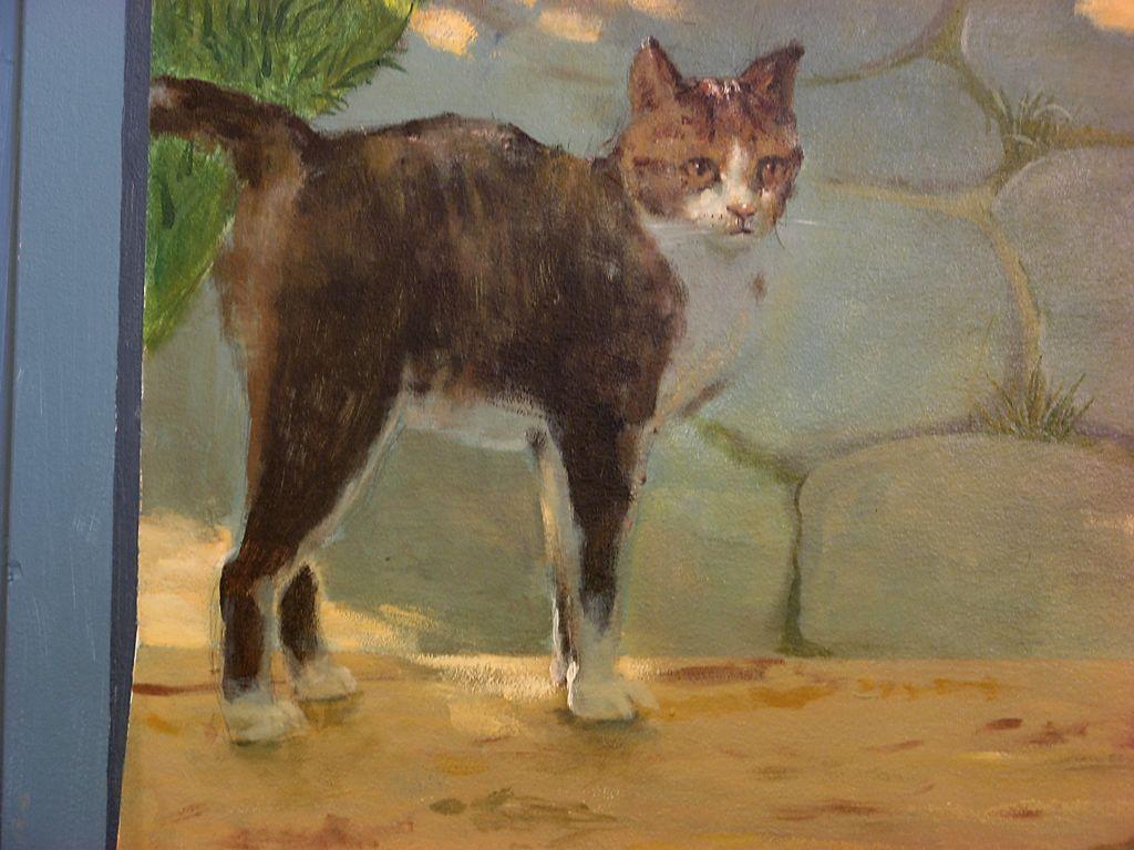 Landschaftsmalerei realismus  Bild: Wandmalerei, Illusionsmalerei, Realismus, Realistische ...