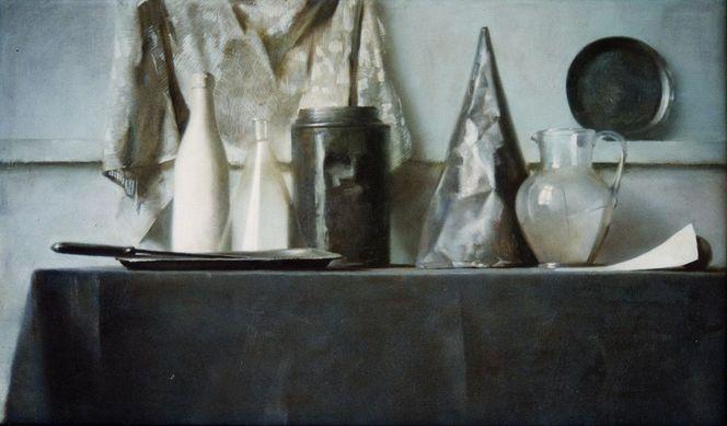 bild realismus stillleben realistische malerei lmalerei von alexander gerlach bei kunstnet. Black Bedroom Furniture Sets. Home Design Ideas
