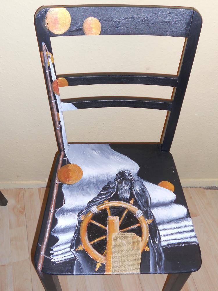 bild holl nder m belmalerei acryl lustige malerei acrylmalerei von reichklein bei kunstnet. Black Bedroom Furniture Sets. Home Design Ideas