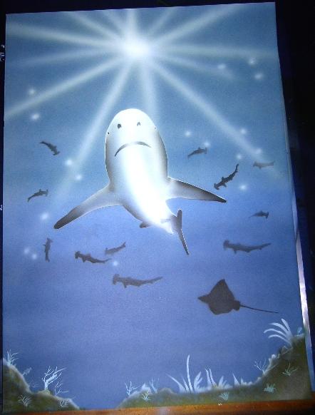 Malerei, Unterwasserwelt