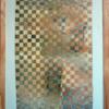 Geflochten, Flechtwerk, Gelb, Acrylmalerei