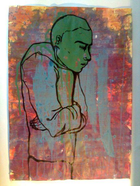 Mann, Malerei, Menschen