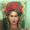 Grün, Schön, Frida kahlo, Portrait