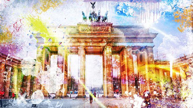 Ddr, Stadt, Wiedervereinigung, Tor, Berlin, Brandenburgertor