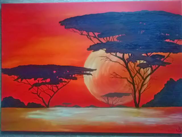 acrylmalerei auf leinwand ohne titel 4  bild  kunst