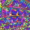 Pseudo, Raum, Wabe, Digitale kunst