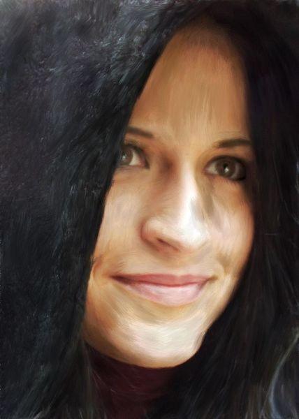 Portrait, Malerei, Menschen,