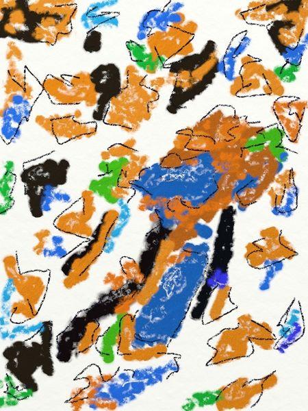 Pastellmalerei, Farben, Digital, Ipad, Malerei