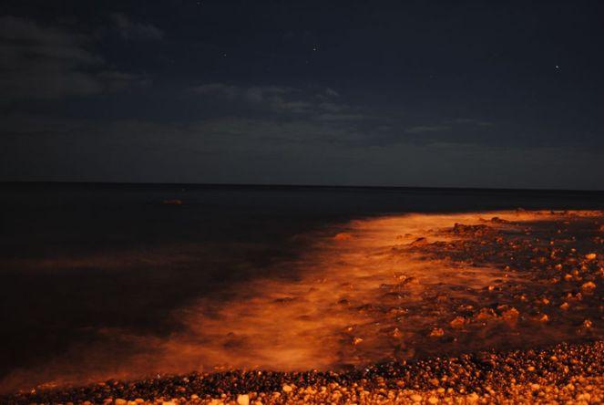 Fotografie, Himmel, Meer, Abstrakt, Strand