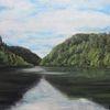 Lac, Biaufond, Doubs, Malerei
