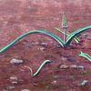 Salagou, Pflanzen, Erde, Malerei