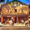 Outsider art, Haus, Szene, Alpen
