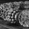 Silber, Objekt, Transparenz, Schwarzweiß