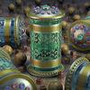 Schmuck, Gefäße, Pokale, Urnen