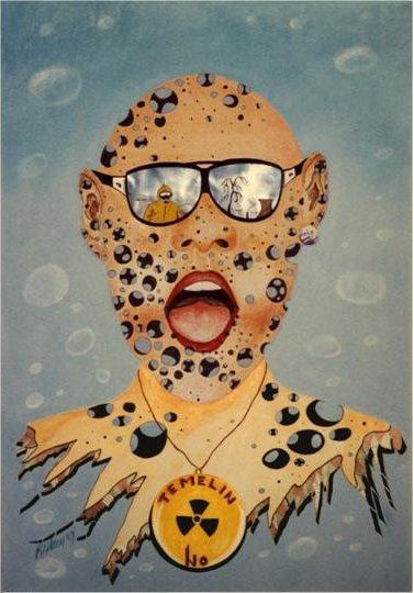 Werner reiter öko, Malen, Fingerabdruck, Malerei, Atom,