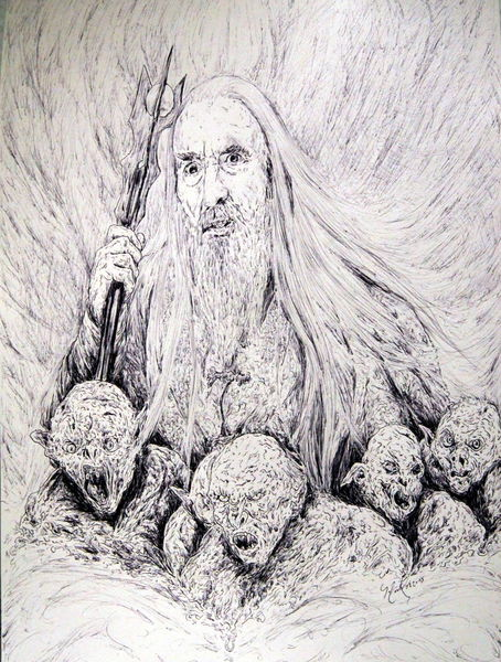 Lotr, Ork, The hobbit, Fantasie, England, Schauspieler