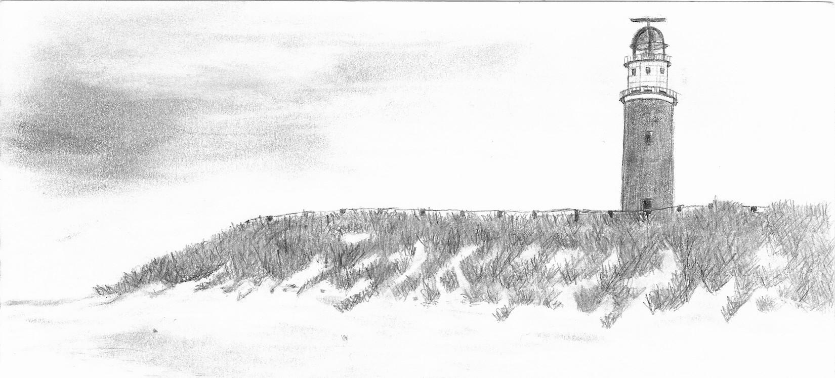 Bild Texel Leuchtturm Nordsee Strand Von Plastisch Bei