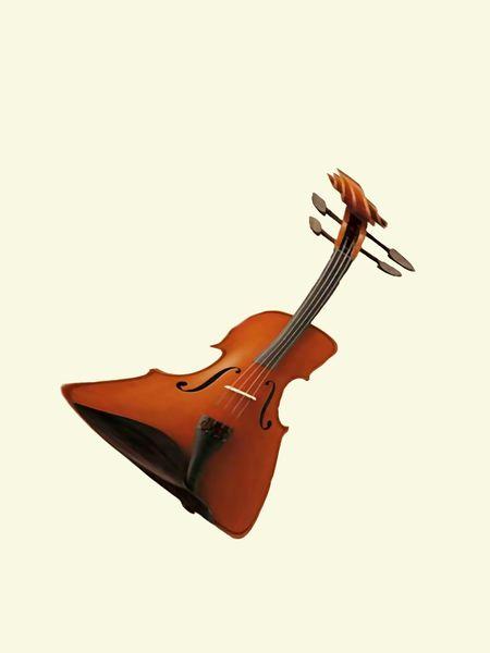 Braun, Hohlkörper, Violine, Konzert, Beschwingt, Sehen