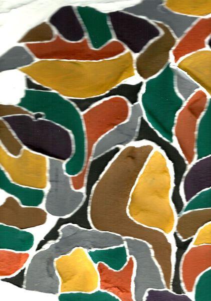 Spachteltechnik, Strukturieren, Farben, Modern, Acrylmalerei, Baum