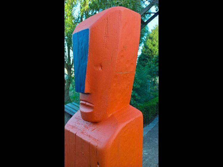 Plastiken, Abstrakte kunst, Holzskulptur, Holz, Moderne kunst, Holzskulpturen