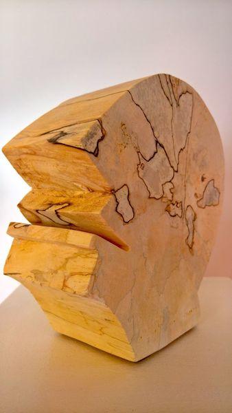 Abstrakte kunst, Holzskulptur, Plastiken, Moderne kunst, Holzskulpturen, Holzbildhauerei