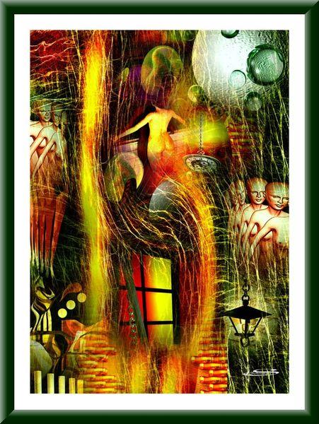 Raum, Zeitgeister, Digitale kunst, Digital, Zeitgeschichte, Harmonie