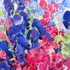 Meer, Aquarellmalerei, Malen, Blumen