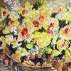 Narzissen, Malen, Blumen, Nordfriesland