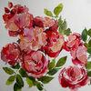 Blumen, Meer, Nordfriesland, Rot
