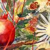 Aquarellmalerei, Blumen, Malerei, Pflanzen