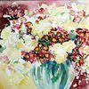 Blumen, Wicken, Aquarellmalerei, Malerei