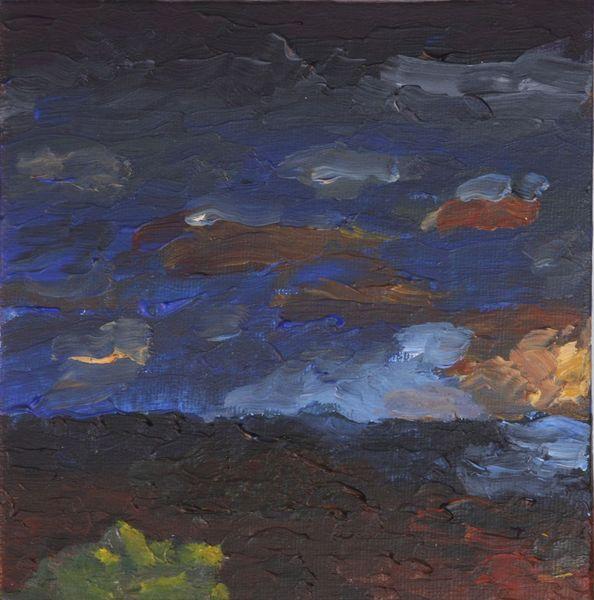 Meer, Licht, Wolken, Dämmerung, Dunkel, Sonne