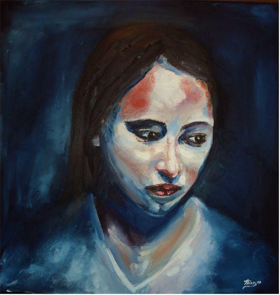 Malerei, Traurig
