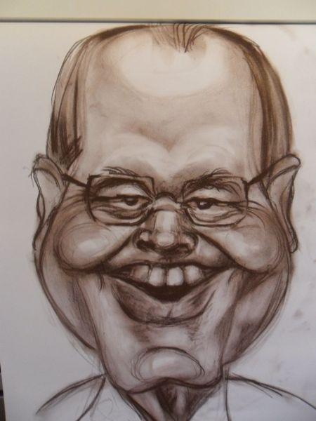 Karikatur, Zeichnungen, Lachen