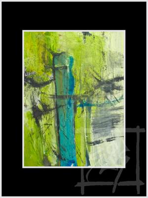 Bild: Abstrakt, Modern art, Malerei, Modern von BarbaraBoob bei KunstNet